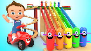 Learn Colors for <b>Children</b> with Baby <b>Game Play</b> Wooden <b>Toy</b> Funny ...