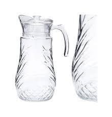 кувшин loraine цвет прозрачный белый 1 15 л