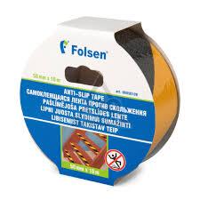 <b>Лента</b> против скольжения <b>Folsen</b> 6950109 <b>клейкая</b> - цена, фото ...