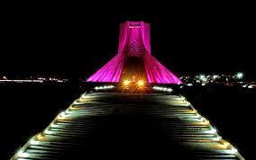 Image result for نمای زیبایی از برج ازادی
