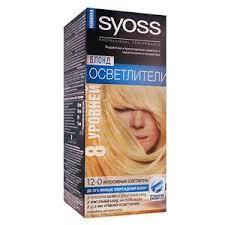 Купить <b>Осветлитель для волос</b> «Syoss» - 12-0 <b>Интенсивный</b> ...