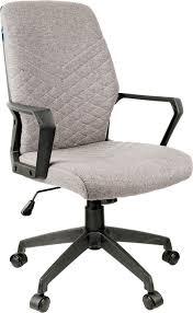 <b>Кресло оператора Helmi</b> HL-М05 Ambition, серый, черный ...
