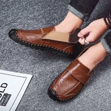 【ready stock】2020 <b>autumn</b> new <b>men's peas shoes men's</b> Korean ...