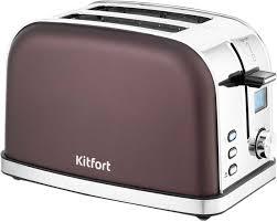 Купить <b>Тостер KITFORT</b> КТ-<b>2036</b>-<b>4</b>, темно-кофейный в интернет ...