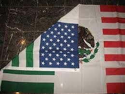 <b>3x5 Feet</b> USA Mexico Combination Flag Mexican American ...