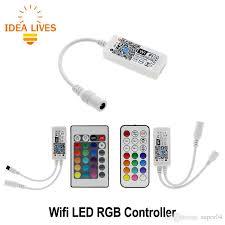 Wifi RGB LED <b>Controller</b> Mini DC12V With RF <b>21Key</b> / <b>IR</b> 24Key ...