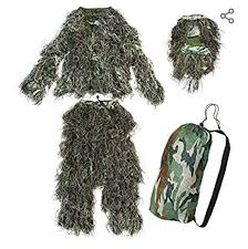 Kombat UK <b>Childrens Ghillie</b> Woodland Suit Outfits & Clothing Sets