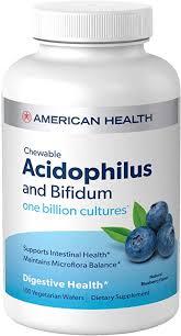 American Health <b>Chewable</b> Probiotic <b>Acidophilus and Bifidum</b>