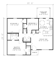 Small Ranch House Plans   House Design IdeasGallery of  Small Ranch House Plans