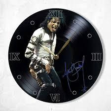 <b>Michael Jackson</b> Vinyl Clock Painted - <b>Michael Jackson Wall</b> Clock ...