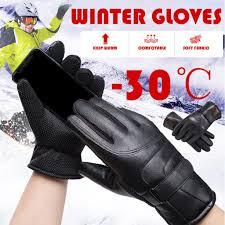 -35'Зима <b>Теплые перчатки</b> Тепловой Лыжный сноуборд ...