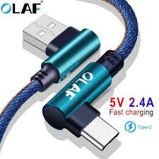 <b>OLAF 5V 2.4A USB</b> Cable with 90-degree Connector Is The Best ...