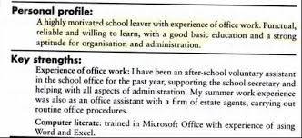 Your CV in English  Scribd graduate financial advisor CV