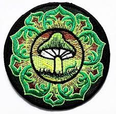 Amazon.com: Nipitshop Patches <b>Green Mushroom</b> Lotus <b>Flower</b> ...