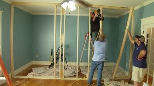how to build a non load bearing interior wall todays homeowner build wall