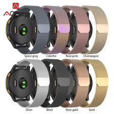 Magnetic <b>Milanese</b> Loop Stainless Steel Band <b>18mm 20mm 22mm</b> ...