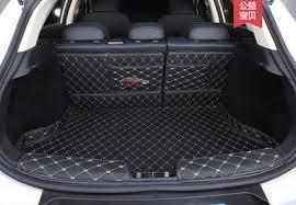 <b>Коврики в багажник</b> (<b>широкие</b>) кожаные для Mitsubishi Outlander ...