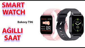 <b>Smart watch</b> Bakeeey <b>T96</b> qutu açılışı - YouTube