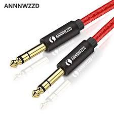 """<b>6.35mm</b> to <b>6.35mm</b> Mono <b>Audio</b> Cable,1/4"""" TS Professional Speaker ..."""