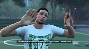 nba k xbox one my career living da dream begins