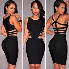 <b>New</b> Fashion <b>Hollow</b> Out <b>Summer</b> Women Bandage Dress ...
