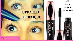 <b>4d silk fiber</b> mascara updated | lashes | technique | beauty 2019