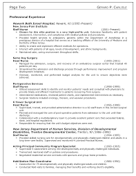 sample objective in resume for nurses shopgrat staff nurse resume examples professional experience by gerard p carlisle