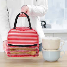 Fashion Portable Insulation Bag <b>Thermal</b> Food Picnic Lunch <b>Bags</b> ...