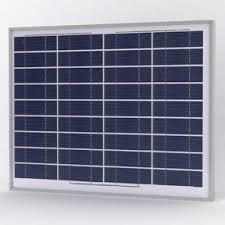 Solarland <b>40W 12V Solar PV</b> Fixed Frame - e Marine Systems