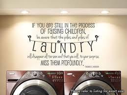 <b>Laundry Room</b>, Raising Children - Wall <b>Art</b> Vinyl <b>Decal</b> going in my ...