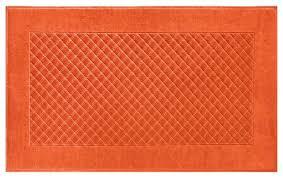 image orange bathroom rugs