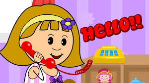 Resultado de imagen de telephone conversation for children