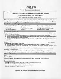 financial advisor resume example   resume examples and resume