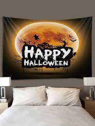 <b>Digital Printing Moon Halloween</b> Waterproof Tapestry #Ad , #spon ...