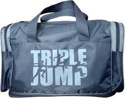 Дорожная <b>сумка</b> Capline 25 «Triple <b>jump</b>» серая купить по цене 1 ...