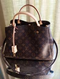 Louis-Vuitton-Montaigne-MM-Brown-Monogram-Canvas-Bag-w ...