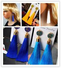 <b>Acrylic</b> Tassel <b>Bohemian</b> Fashion <b>Earrings</b> for sale | eBay