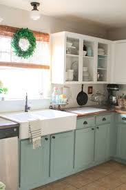 st charles kitchen cabinets: good  years later chalk painted kitchen cabinets