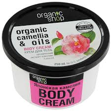 "<b>Крем для тела</b> Organic Shop ""<b>Японская</b> камелия"", 250 мл ..."