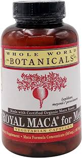 Whole World Botanicals, Maca for Men, 180 Capsules ... - Amazon.com