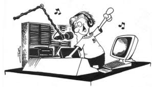 Image result for radio dj clipart