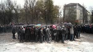 """В Запорожье пикетируют торговый центр, якобы принадлежащий бывшему """"смотрящему"""" Анисиму: """"Опасно! Возможен сепаратизм!"""" - Цензор.НЕТ 3025"""