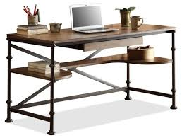 retro american country old wrought iron wood desk computer desk writing desk iron table american country wrought iron vintage desk