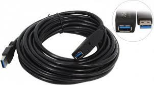 <b>Кабель удлинительный</b> USB 3.0 <b>AM</b>-<b>AF 5.0м</b> VCOM Telecom ...