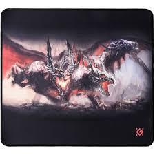 Игровой <b>коврик Defender Cerberus</b> XXL 400x355x3 мм, ткань+ ...
