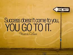 You should go to the success