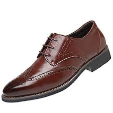 Classical <b>Style</b> BUSIM <b>Men's Breathable</b> Business Leather <b>Shoes</b> ...