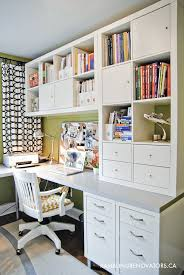 best of the blogs offices desks bhg style spotters charming office craft home wall storage