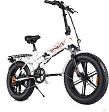 <b>ENGWE 500W</b> 20 inch Fat Tire Electric Bicycle Mountain Beach ...