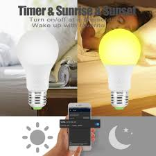 <b>E27 4.5W</b> Wi Fi <b>Smart</b> LED <b>Bulb</b> Colorful Changing RGB Magic Light ...